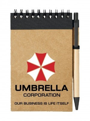Poznámkový blok Umbrella Corporation