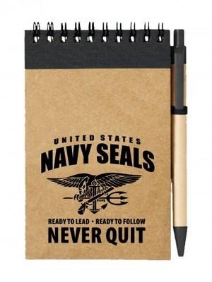Poznámkový blok United States NAVY SEALS Never Quit