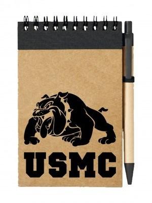 Poznámkový blok USMC Devil Dogs