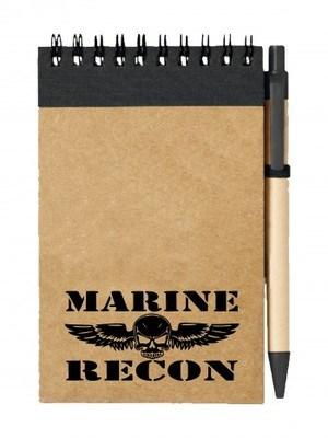 Poznámkový blok USMC Marine Recon