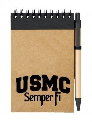 Poznámkový blok USMC Semper Fi
