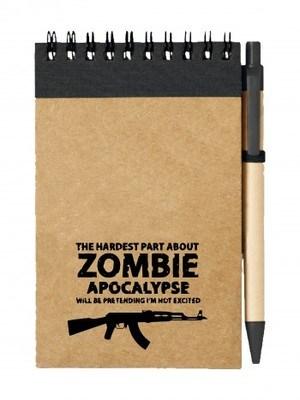 Poznámkový blok Zombie Apocalypse Kalashnikov AKM