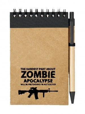 Poznámkový blok Zombie Apocalypse M4 Carbine
