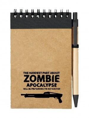 Poznámkový blok Zombie Apocalypse Shotgun FORT