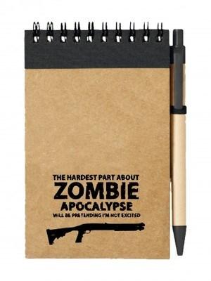 Poznámkový blok Zombie Apocalypse Shotgun Remington
