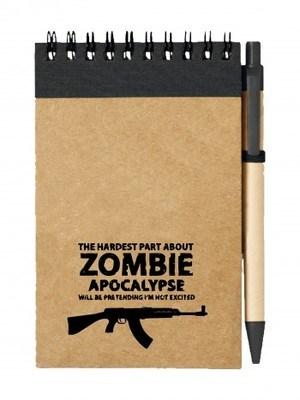 Poznámkový blok Zombie Apocalypse vz. 58 / CZ 858 Tactical