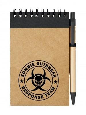 Poznámkový blok Zombie Outbreak Response Team Skull