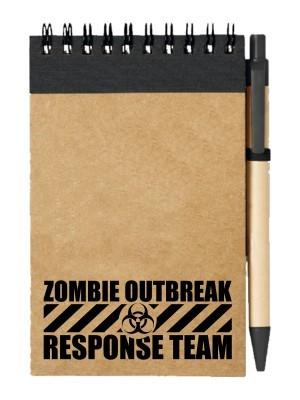 Poznámkový blok Zombie Outbreak Response Team