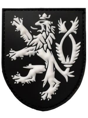 PVC nášivka Český lev