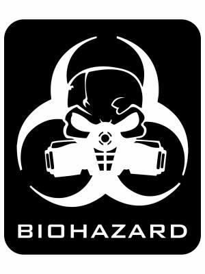 Samolepka Biohazard