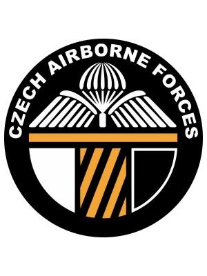 Samolepka CAF 43rd Airborne Battalion
