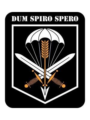 Samolepka CAF 601. SKSS Dum Spiro Spero