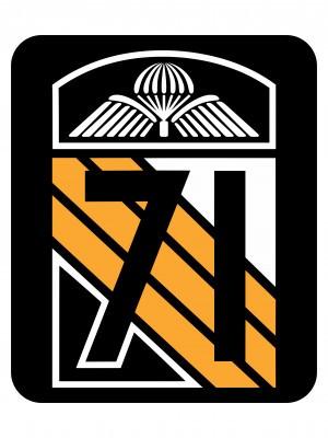 Samolepka CAF Legacy of 71st Airborne Battalion