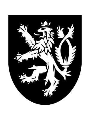 Samolepka Český lev