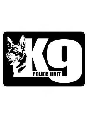 Samolepka K9 Police Unit