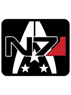 Samolepka N7 Alliance Military