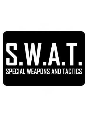 Samolepka SWAT Special Weapons And Tactics