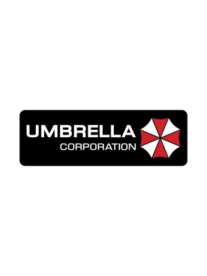 Samolepka Umbrella Corporation Line