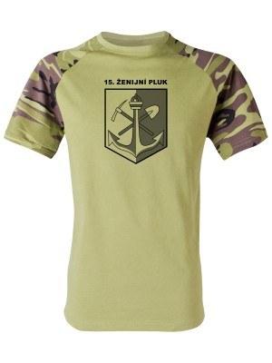 Tričko 15. ženijní pluk (vzor 95)