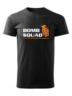 Tričko BOMB SQUAD
