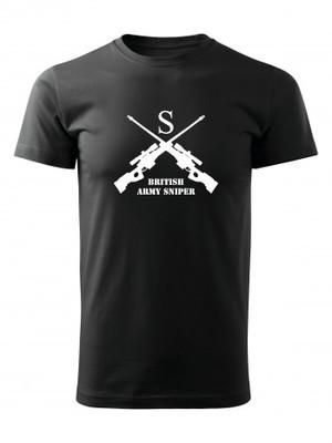 Tričko BRITISH ARMY SNIPER