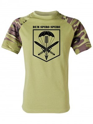 Tričko CAF 601. SKSS Dum Spiro Spero (vzor 95)