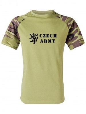 Tričko Czech Army Lion (vzor 95)