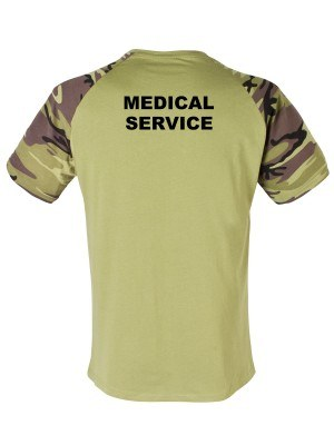 Tričko CZECH ARMY MEDICAL SERVICE (vzor 95)