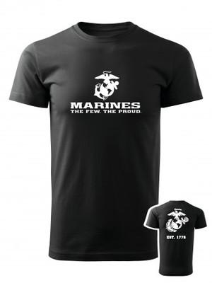 Tričko EGA Marines EST. 1775