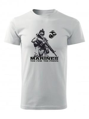 Tričko EGA Marines The Few The Proud 2