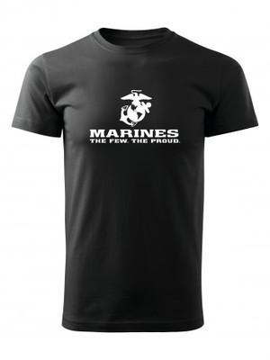 Tričko EGA Marines The Few The Proud