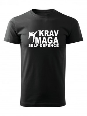 Tričko Krav Maga - self defence fighter
