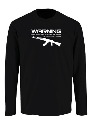 Tričko s dlouhým rukávem BAD HABIT AK-47
