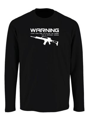 Tričko s dlouhým rukávem BAD HABIT G36