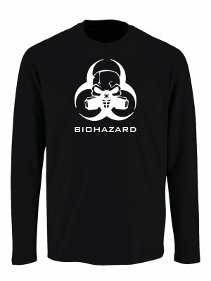 Tričko s dlouhým rukávem Biohazard