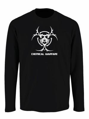 Tričko s dlouhým rukávem Biohazard Chemical Warfare