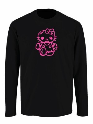 Tričko s dlouhým rukávem Hello Kitty Zombie