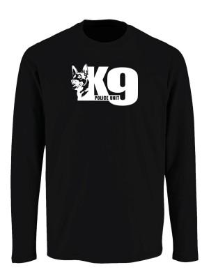 Tričko s dlouhým rukávem K9 Police Unit