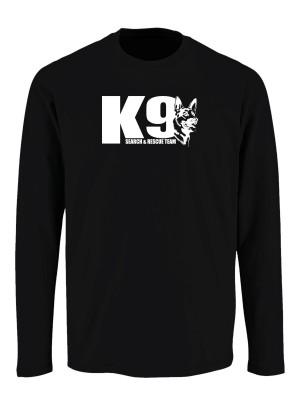 Tričko s dlouhým rukávem K9 Search and Rescue team