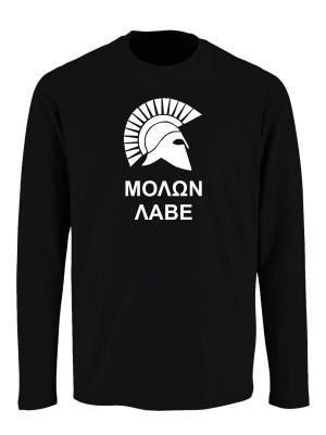 Tričko s dlouhým rukávem MOLON LABE Two Line