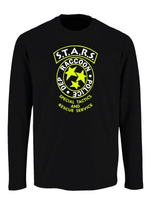 Tričko s dlouhým rukávem S.T.A.R.S. R.P.D. Big Badge