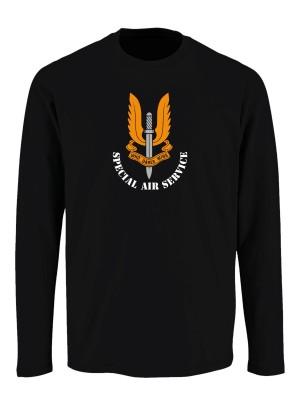 Tričko s dlouhým rukávem SAS Special Air Service
