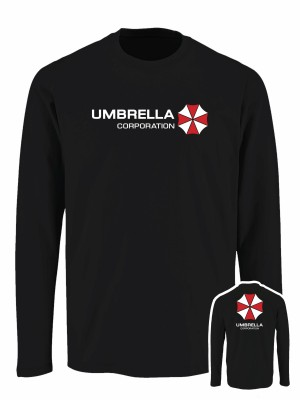 Tričko s dlouhým rukávem Umbrella Corporation Backside