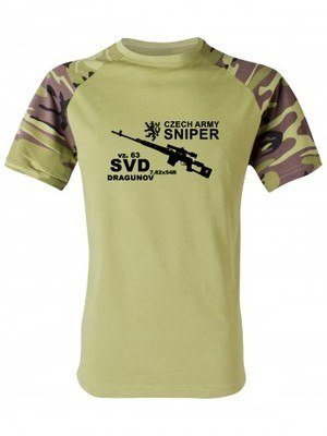 Tričko SVD DRAGUNOV CZECH ARMY SNIPER (vzor 95)