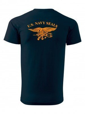 Tričko United States NAVY SEALS BACKSIDE