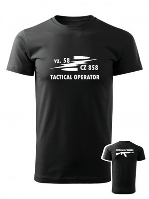 Tričko vz. 58 CZ 858 Tactical Operator BACKSIDE