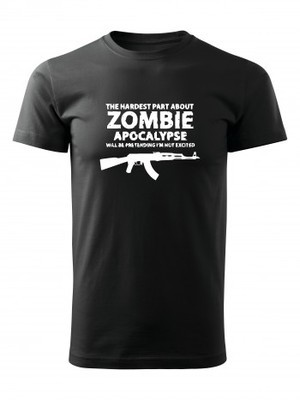 Tričko Zombie Apocalypse Kalashnikov AKM