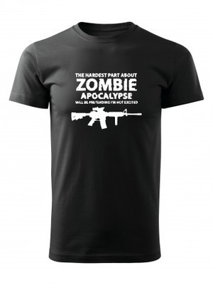 Tričko Zombie Apocalypse M4 Carbine