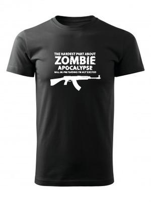 Tričko Zombie Apocalypse vz. 58 / CZ 858 Tactical