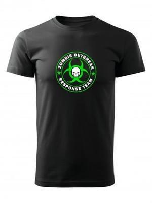 Tričko Zombie Outbreak Response Team Skull